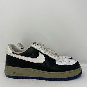 Nike Air Force One 07 White Black Gray